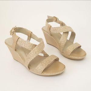 ANDREW GELLER Sandal Wedge Heel Size 10M